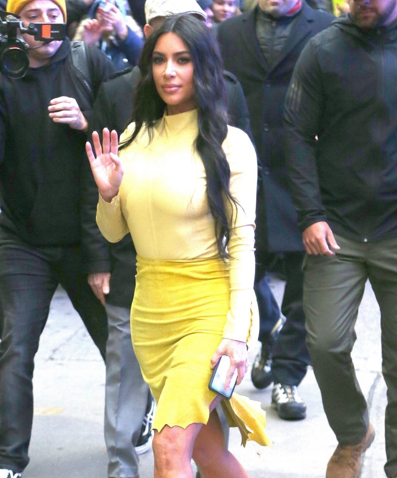 金·卡戴珊(Kim Kardashian)-纽约《早安美国》02/05/2020