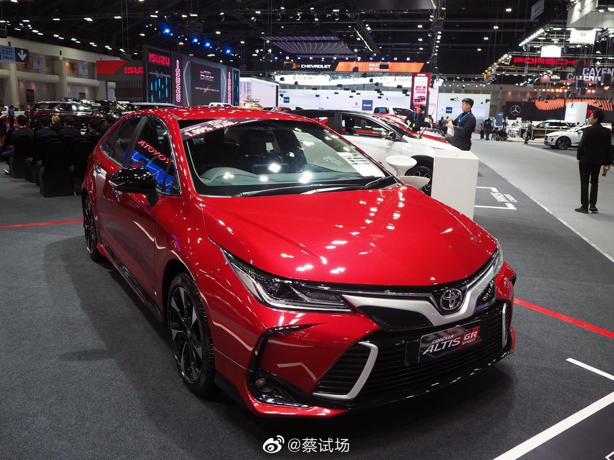 丰田卡罗拉/雷凌改装参考:卡罗拉Altis GR Sport,泰国特供,1