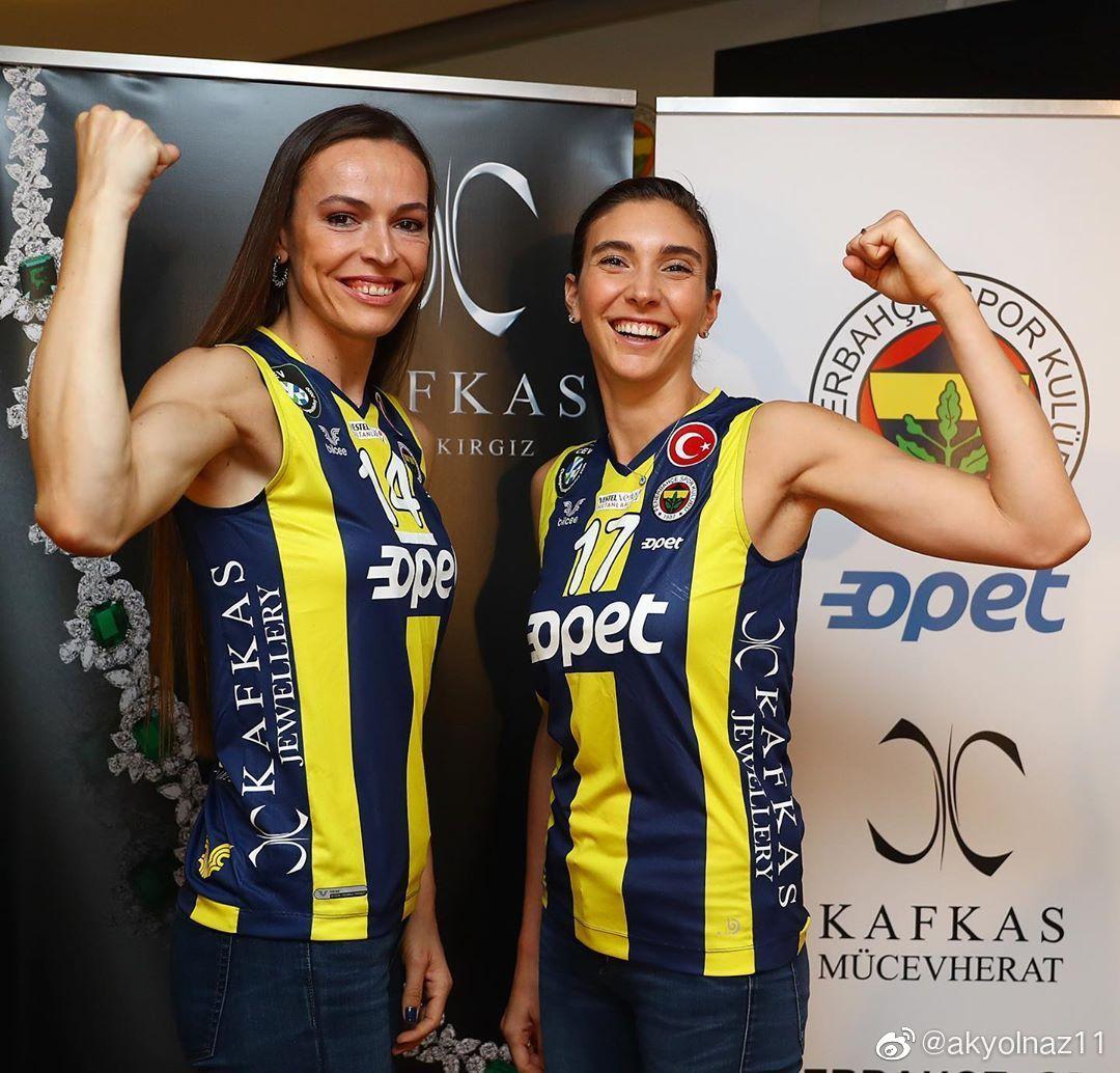 土耳其费内巴切女排俱乐部新赛季赞助商发布会。