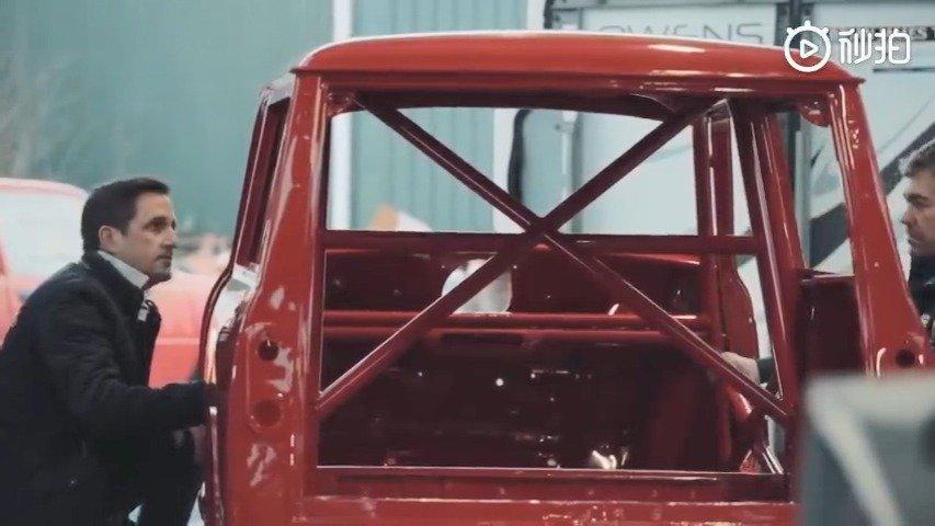 视频:1964年的MINI Countryman翻新改装,参加第77届古德伍德比赛
