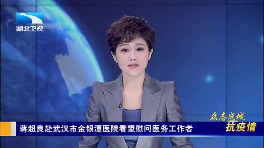 蒋超良赴武汉市金银潭医院看望慰问医务工作者