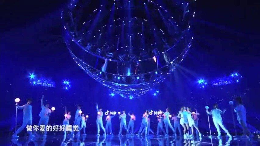 @张杰 张杰2020江苏卫视跨年六首联唱《一个故事+他不懂+明天过后+何