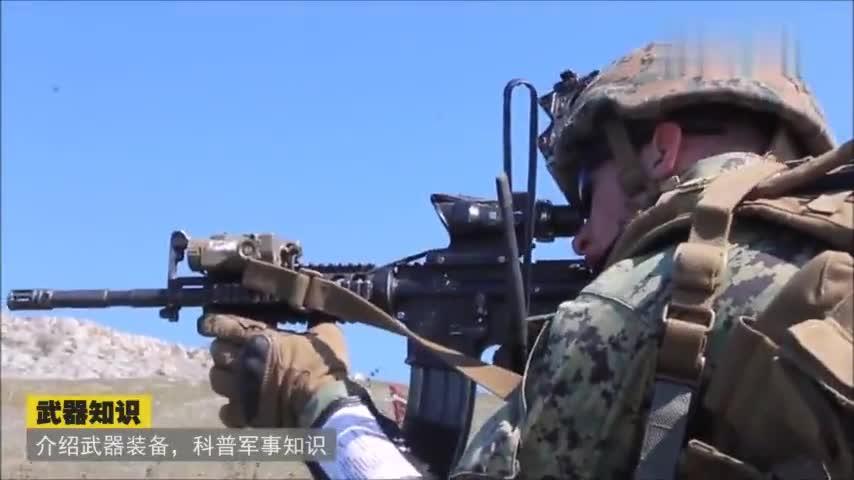 接近实战训练的海军陆战队,连迫击炮和火箭筒都用上了