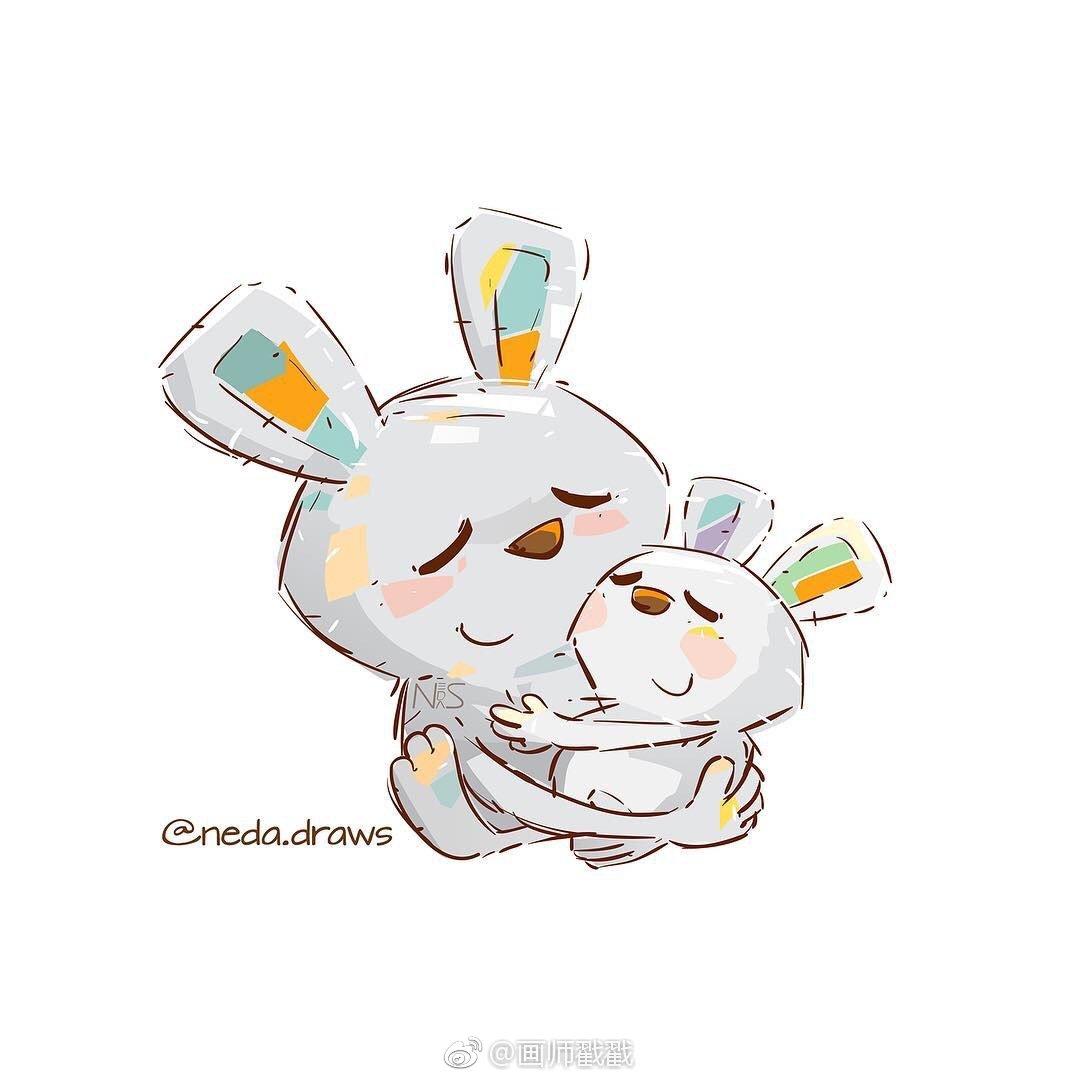 插画设计分享,可爱又萌萌哒的动物形象设计