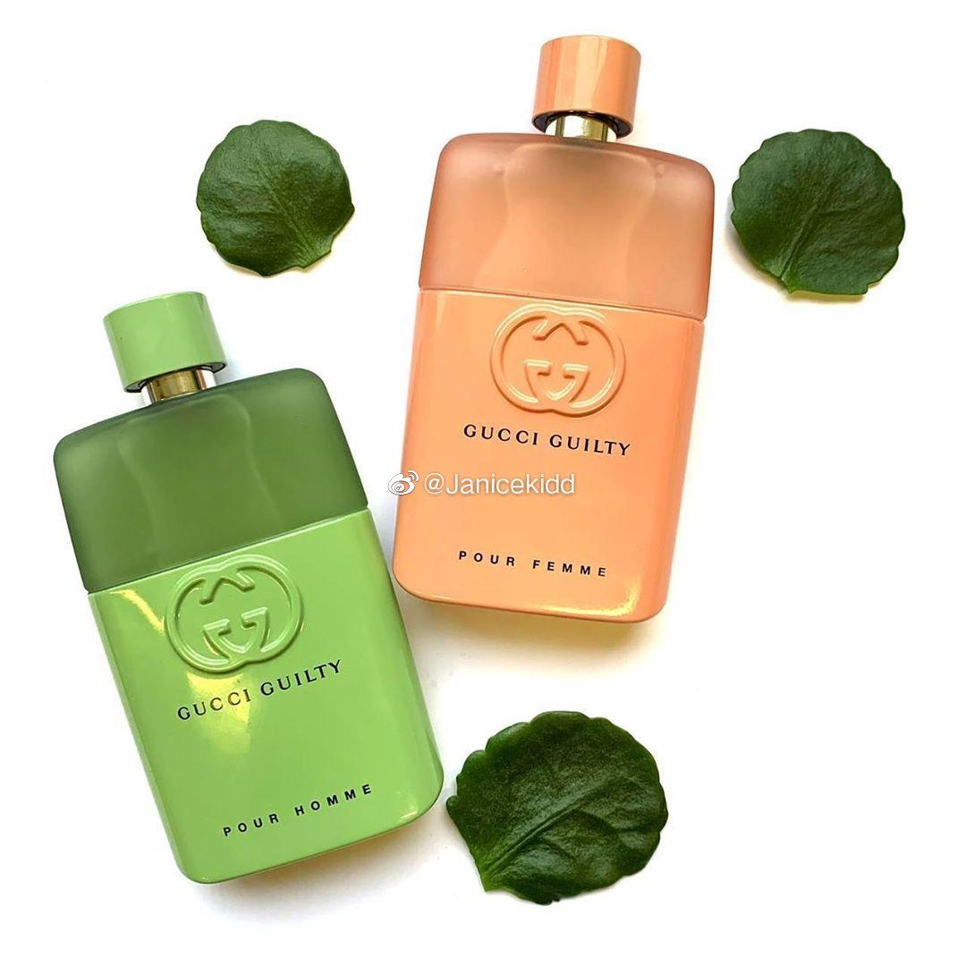 GUCCI 专为2020年情人节设计的两款香水