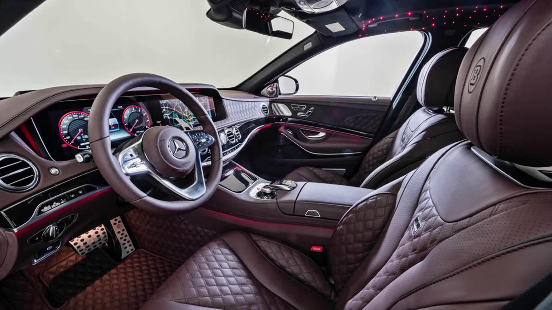 Mercedes Maybach S650 Brabus 900 hp