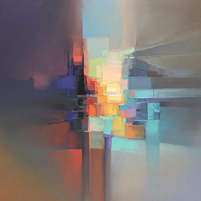 """""""抽象的城市""""来自英格兰多塞特的杰森·安德森(JasonAnderson)开始"""