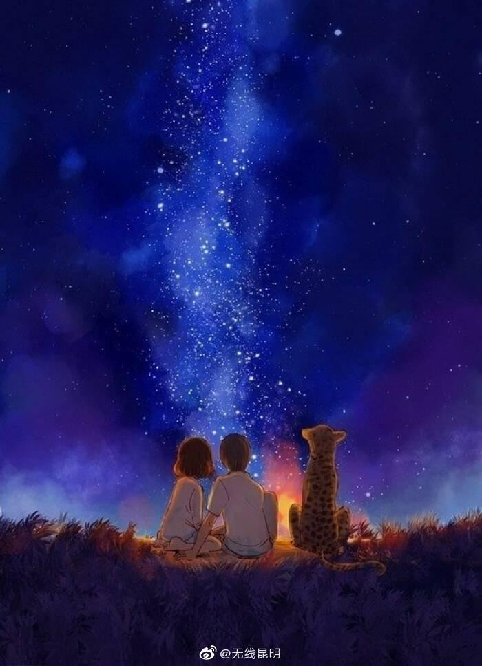 当心倦了累了,记得停下来,给心灵寻一份安暖,给自己找一方晴空