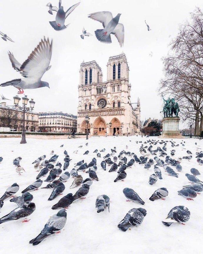 法国摄影师Loc Lagarde镜头下各国的冬日雪景