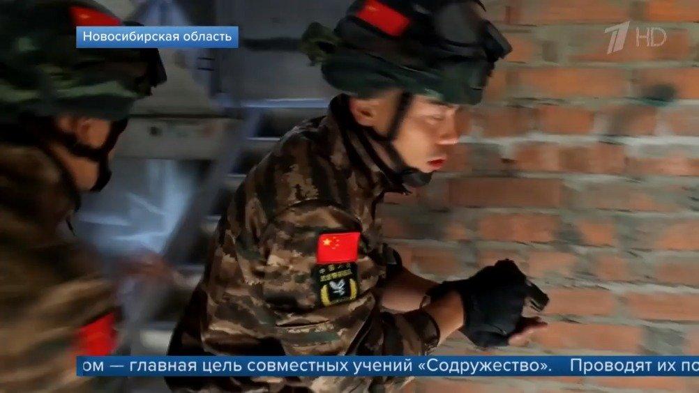 """""""合作-2019""""中国人民武装警察部队同俄罗斯国民卫队联合反恐演习在"""