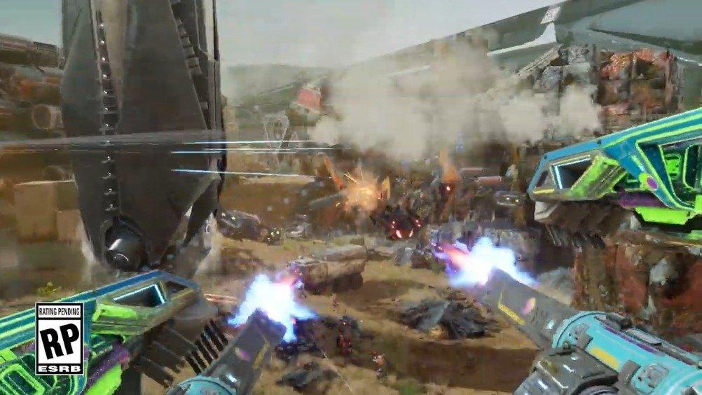 《光环》联合创始人科幻射击新作《Disintegration》公布内测宣传影像