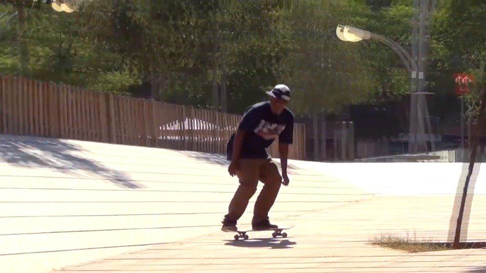 巴塞罗那享誉滑板圣地之称,Felipe Camargo