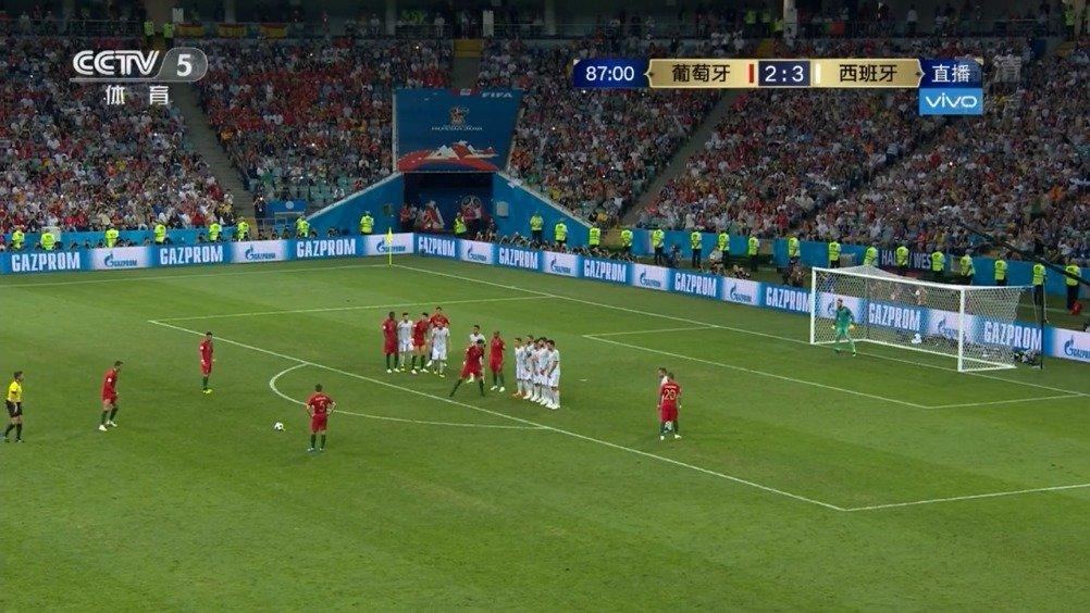 C罗帽子戏法,葡萄牙3-3战平西班牙。