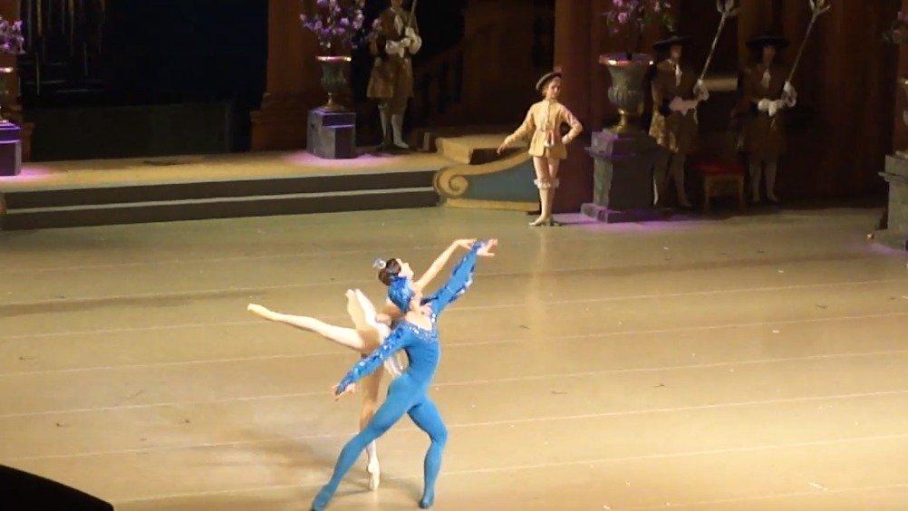 马林斯基剧院 2020年2月23日 晚场 睡美人 三幕蓝鸟双人舞 Maria Iliu