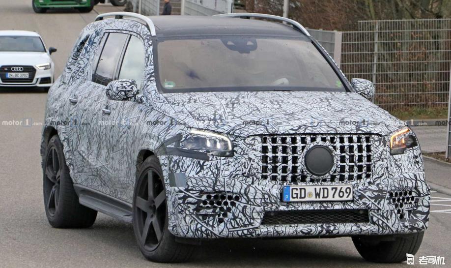全尺寸高性能SUV新选择 AMG GLS 63渲染图