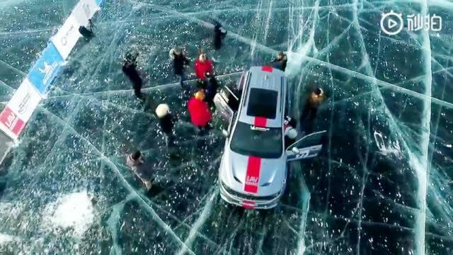 视频:Jeep大切诺基Trackhawk在西伯利亚南部的贝加尔湖创下冰上最速SUV纪录