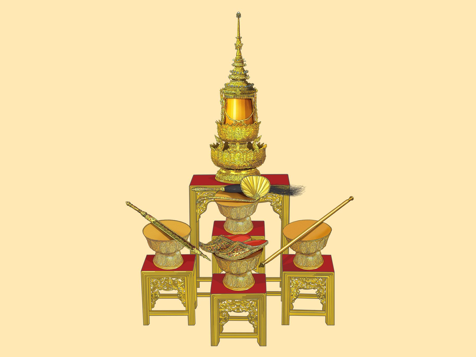 一文详解泰王加冕仪式流程:五大宝物将现身