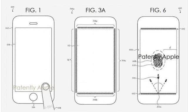 音乐屏幕有苹果后真香!专利指纹手机究竟有什百度云播放的全新怎么下载iphone图片