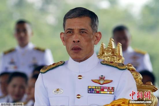 资料图:泰王哇集拉隆功。