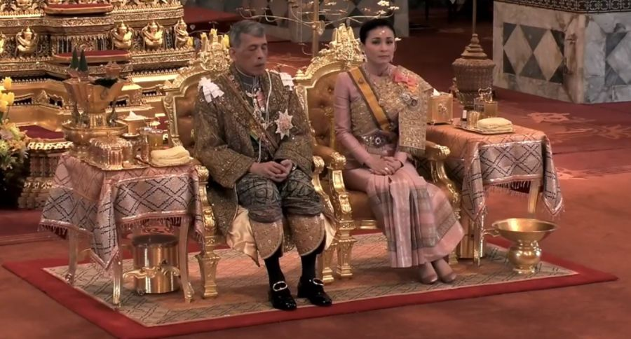 泰王和王后