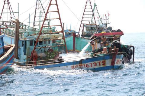 印尼击沉51艘外国渔船 大部分来自越南