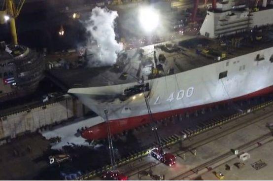 """印度土耳其航母接连着火,仔细看竟然是""""假航母""""?"""