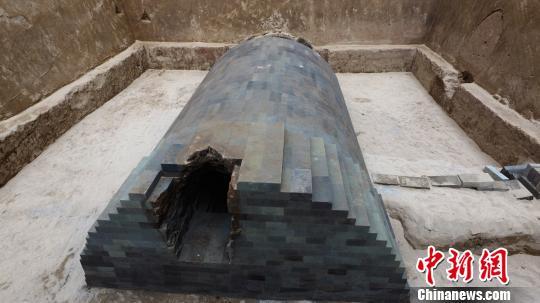 西安再现西汉晚期重要墓葬 宜春侯积沙墓现身