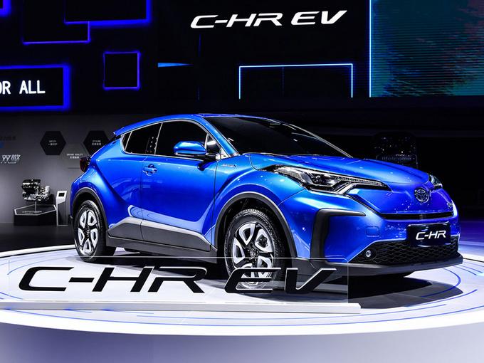 丰田反应慢半拍?C-HR终于推电动版,高颜值+新技术,自主品牌该发愁了
