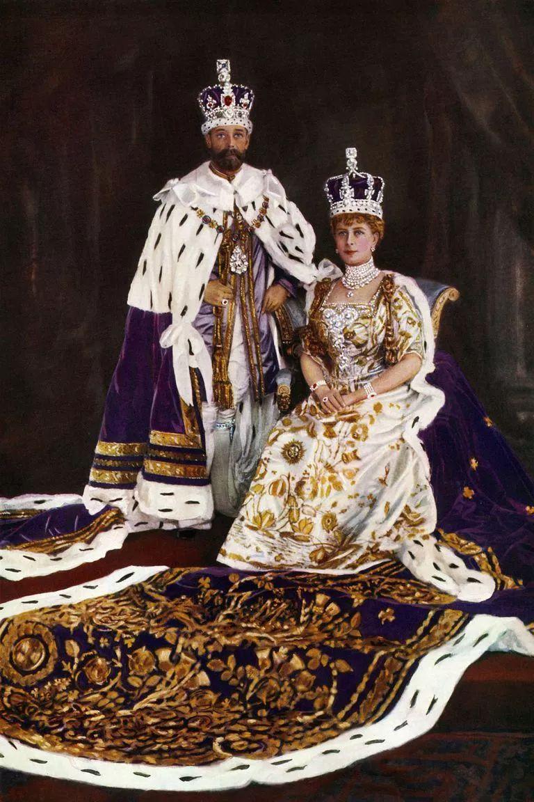 乔治五世与玛丽王后