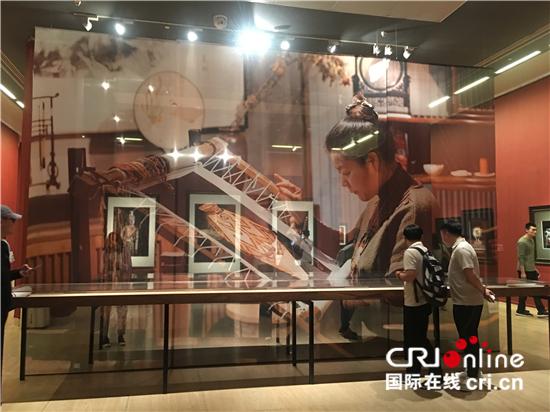 """""""工匠精神·苏艺:王丽华苏绣艺术精品展""""在中国美术馆开展"""