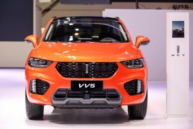 WEY VV5 1.5T倾橙限量版车型将于5月15日正式上市