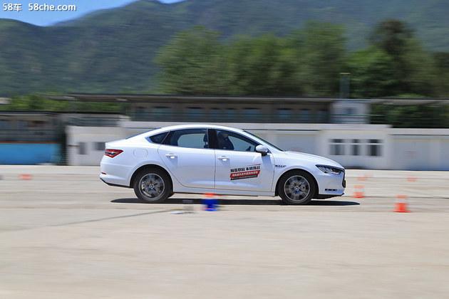 运动与续航兼得 场地试驾秦Pro EV超能版