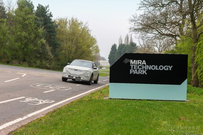 天际ME7正在英国调校底盘 6月回国测试