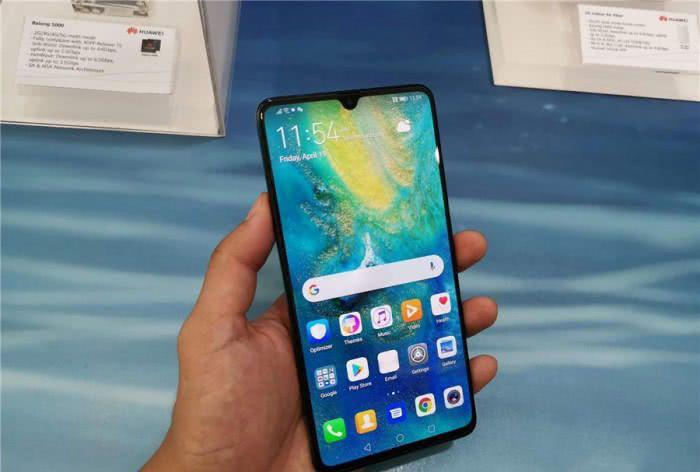 华为5G手机发货量