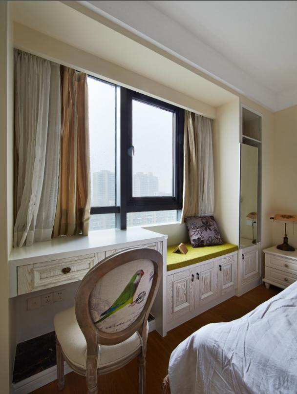 卧室带飘窗别乱装,这么设计漂亮又实用,房间瞬间面积翻一倍