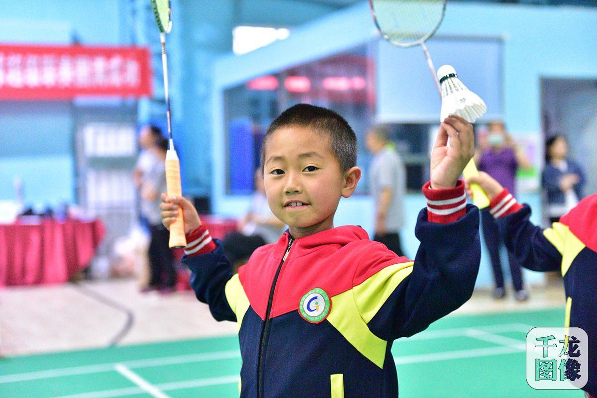 回天地区第二届青少年羽毛球超级联赛收官