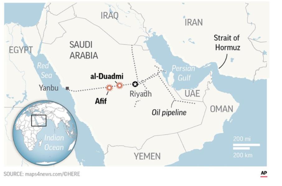 中东安全事件