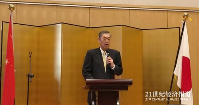日本驻华大使:中日关系刮东风 推进具体合作时机到了