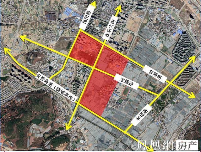 1且≤3, 今日,据昆明市晋宁区规划局消息,昆明市晋宁区西城核心区