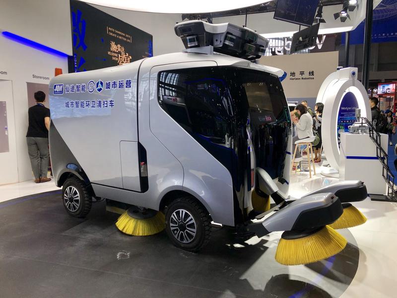 研发自动驾驶环卫清扫车,「仙途智能 Autowise.ai」开启德国港口试运营