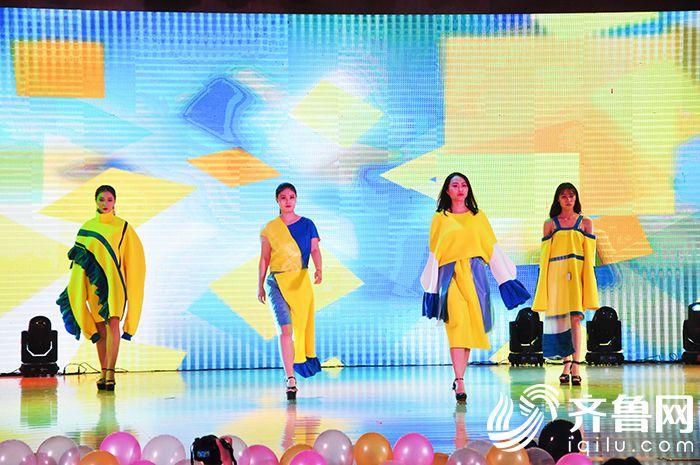 正青春丨德州高校大学生服装设计毕业文业设计院图片
