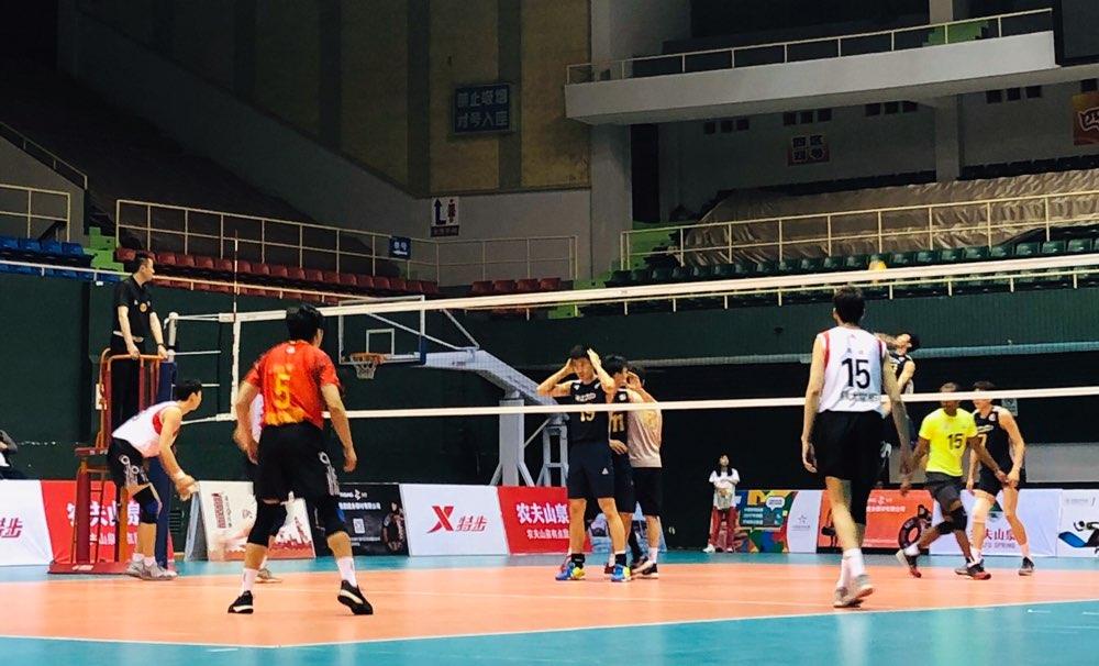 全国男排冠军赛:山东小组第二出线 八进四对阵浙江
