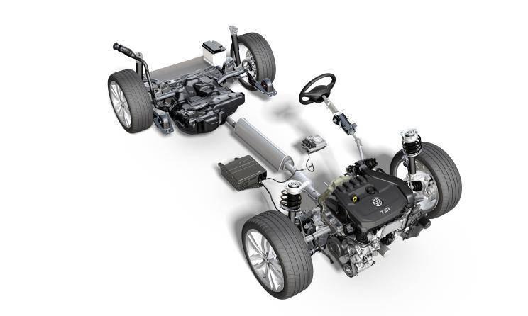 第八代高尔夫内饰出炉,造型也全面颠覆,汽油版全搭载48V轻混