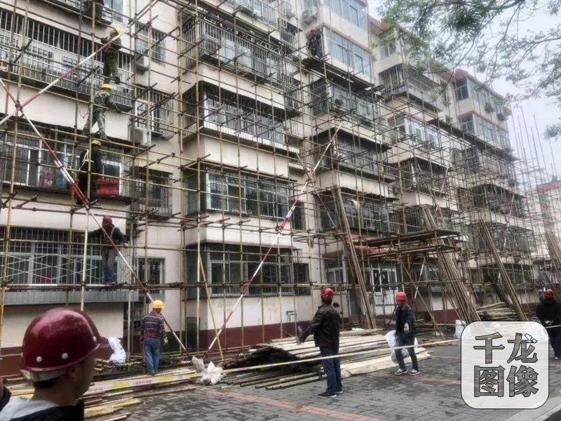疏解整治促提升|北京密云区5个老旧小区改造今年6月中旬完成