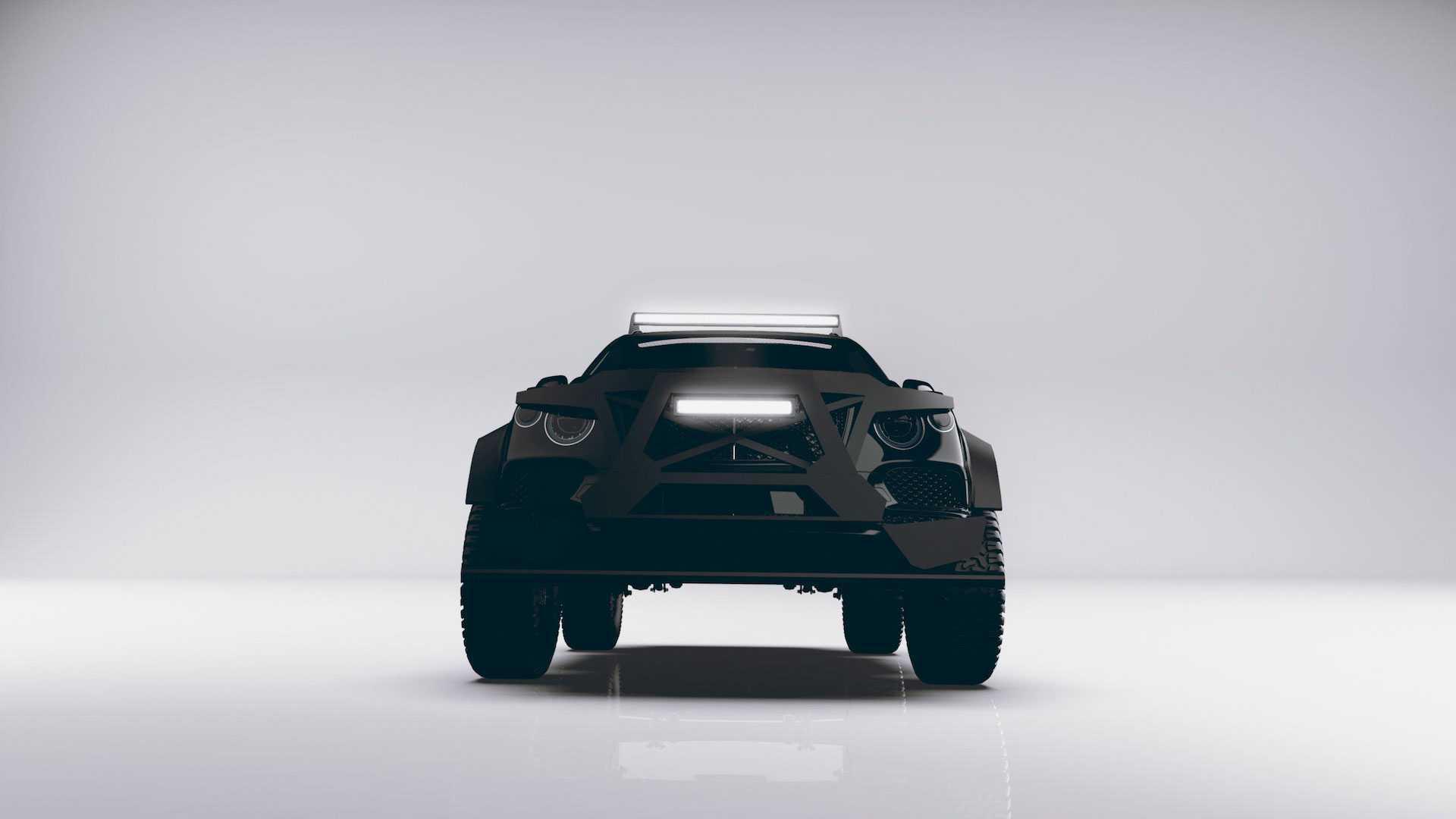 全球限量15辆,定制改装宾利豪华SUV,外形像坦克