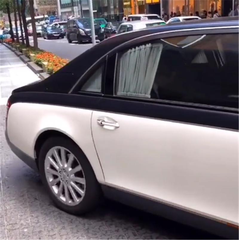 1298万迈巴赫62S现街头,配双色漆面,保有量不超24台,车型罕见