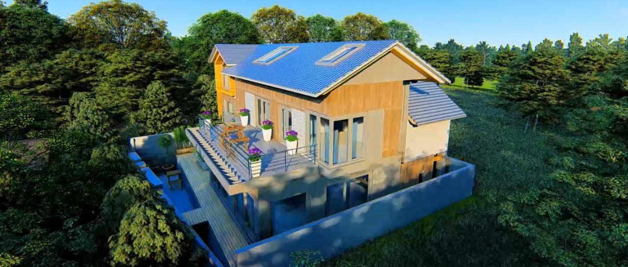 11×15米新中式美宅,开放式厨房+loft设计打造时尚个性生活