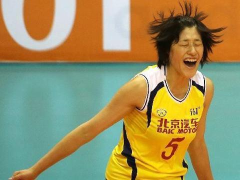 像在中国女排队 张常宁和刘晓彤就是好命的代表