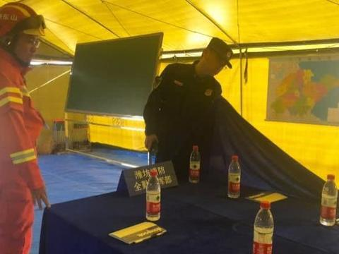 潍坊消防支队圆满完成省政府地震应急救援跨区域实战拉动演练
