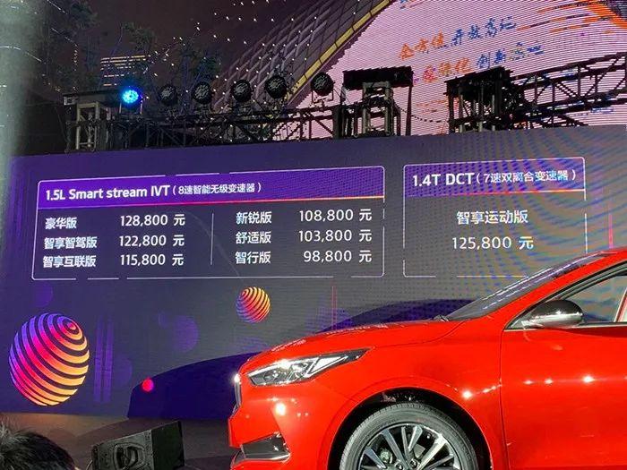 全新起亚K3竞争力分析,全系自动挡,9.88万起售,矛头指向了谁?